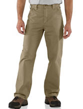 Carhartt® Men's Big & Tall Solid Color Canvas Work Dungaree Pants