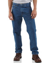 Carhartt® Traditional Fit Five Pocket Tapered Leg Jeans