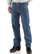 Carhartt® Men's Big & Tall Flame Resistant Relaxed Fit Utility Jeans