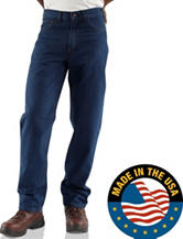 Carhartt® Men's Big & Tall Flame Resistant Relaxed Fit Signature Jeans