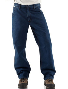 Carhartt Men's Big & Tall Flame Resistant Signature Dungaree Jeans