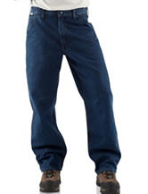 Carhartt® Men's Big & Tall Flame Resistant Signature Dungaree Jeans