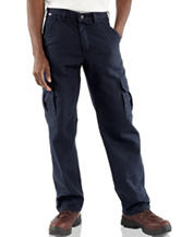 Carhartt® Men's Big & Tall Solid Color Fire Resistant Cargo Pants