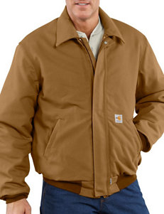 Carhartt Men's Big & Tall Flame Resistant Heavyweight Duck Bomber Jacket