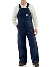 Carhartt® Men's Big & Tall Flame Resistant Duck Bib Lined Solid Color Overalls