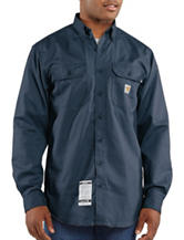 Carhartt® Men's Big & Tall Fire Resistant Classic Twill Shirt