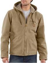Carhartt® Men's Big & Tall Sandstone Sierra Sherpa Lined Solid Color Jacket