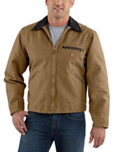 Carhartt® Detroit Sandstone Blanket Lined Solid Color Jacket