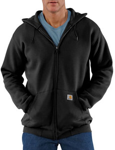 Carhartt® MW Original Fit Zip Front Solid Color Sweatshirt