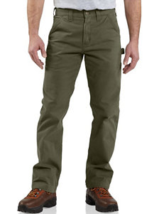 Carhartt® Men's Big & Tall Washed Twill Relaxed Fit Dungaree Pants