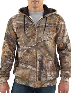 Carhartt Men's Big & Tall WorkCamo Hooded Realtree Xtra Camo Print Jacket