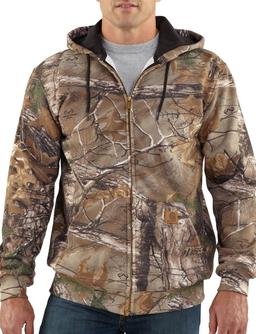Carhartt Camo Fleece & Soft Shell Jackets