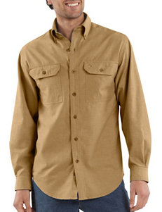 Carhartt Denim Casual Button Down Shirts