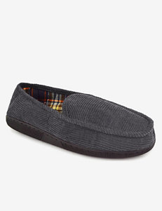 Muk Luks Corduroy Slippers – Men's