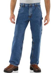 Carhartt® Men's Big & Tall Dungaree Washed Denim Original Fit Work Jeans