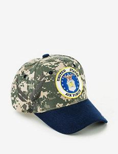 U.S. Air Force Camo & Navy Two Tone Shadowed Logo Cap