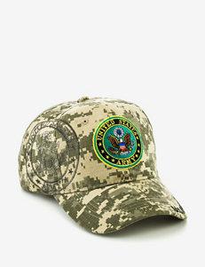 U.S. Army Camo Print Embroidered Logo Cap