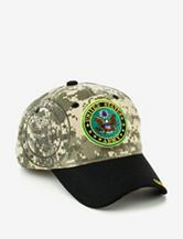 U.S. Army Camo & Black Two Tone Shadowed Logo Cap