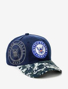U.S. Navy Navy & Camo 2-Toned Shadowed Logo Cap