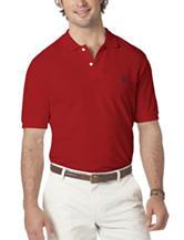 Chaps Men's Big & Tall Solid Color Pique Polo Shirt