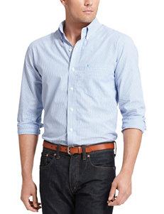 Izod Big & Tall Vertical Striped Shirt