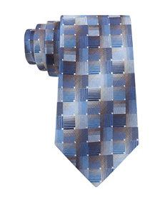 Van Heusen Criss Cross Geo Print Tie