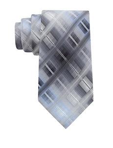 Van Heusen Blue Multi Mixed Grid Tie