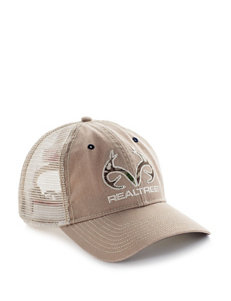Realtree Relaxed Camo Filled Trucker Cap