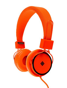 Polaroid Orange Headphones