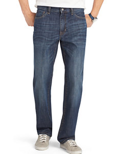 Izod Blue Relaxed Straight