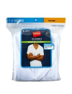 Hanes® Men's Big & Tall 3-pk. V-neck Comfort Soft® Tees