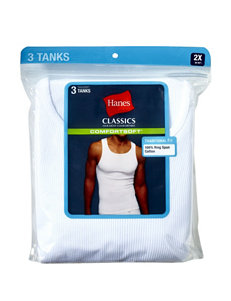 Hanes® Men's Big & Tall 3-pk. Comfort Soft® Big Man Tanks