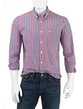 Dockers® Folded Plaid Woven Shirt