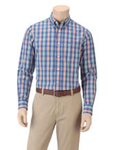 Dockers® Folded Multicolor Plaid Woven Shirt