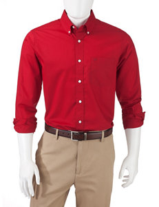 Dockers Solid Color Woven Shirt