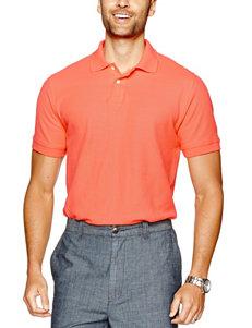 Sun River Solid Color Pique Polo Shirt