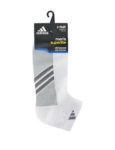 Adidas White Socks