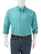 Dockers® Men's Big & Tall Gingham Plaid Woven Shirt