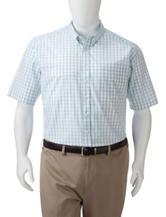 Dockers® Men's Big & Tall Folded Windowpane Plaid Woven Shirt