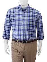 Dockers® Men's Big & Tall Oxford Plaid Woven Shirt