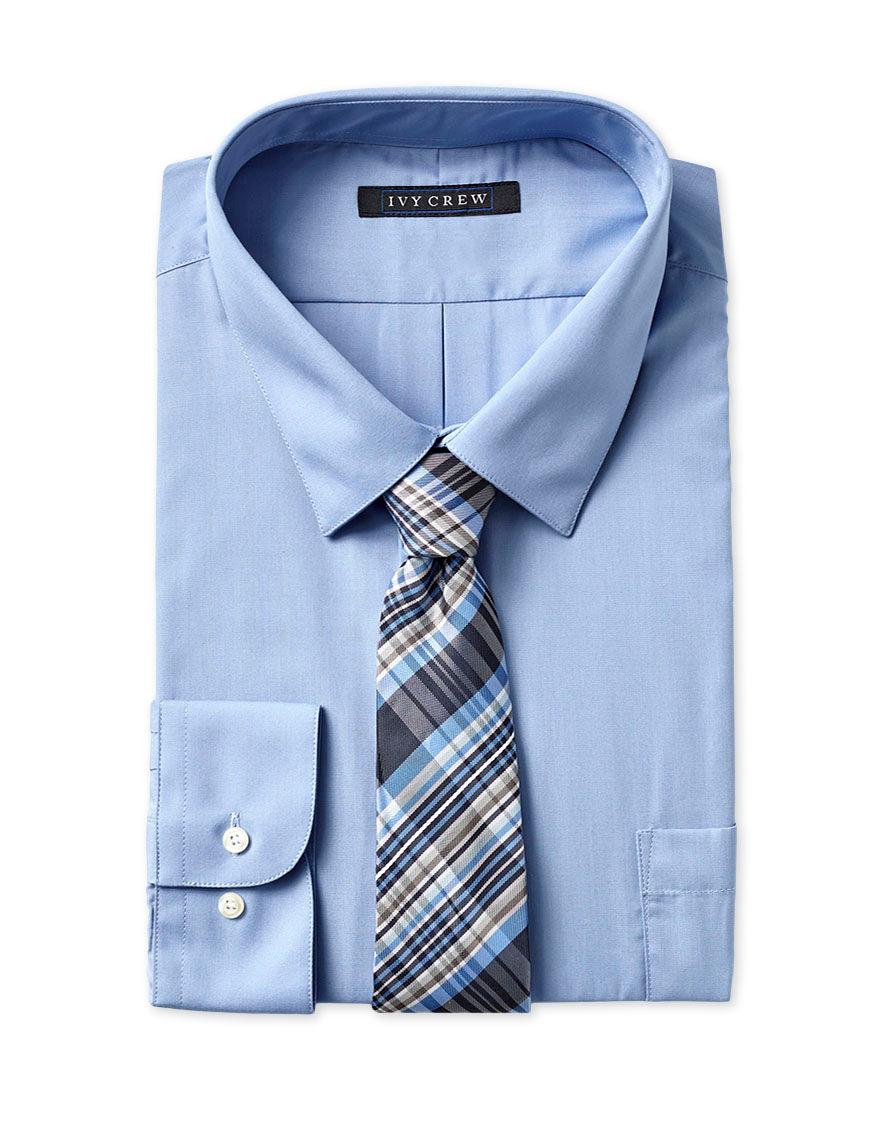Ivy Crew Blue Dress Shirts