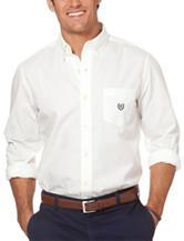 Chaps White Poplin Woven Shirt