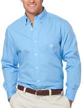 Chaps Blue Poplin Woven Shirt