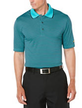 Jack Nicklaus Grid Print Golf Polo Shirt