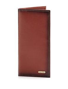 Nautica Tan Bi-fold Wallets
