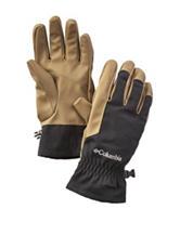 Columbia Light Brown & Black Loma Vista Gloves