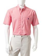 U.S. Polo Assn. Fundamental Striped Woven Shirt
