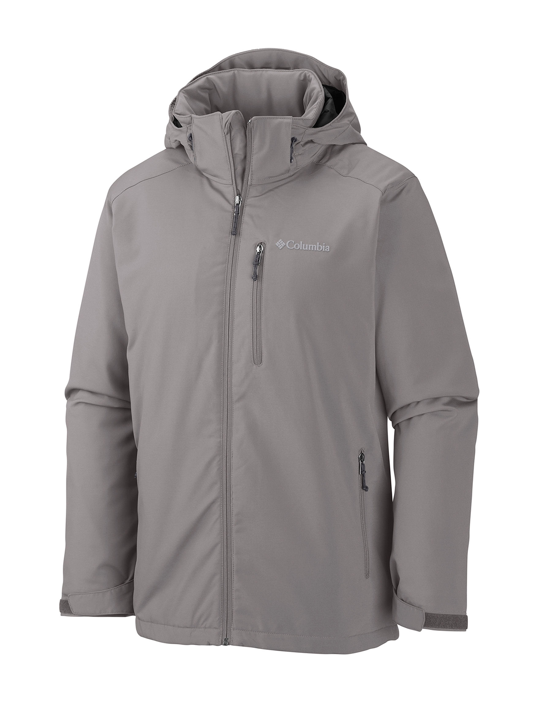 Columbia Grey Insulated Jackets