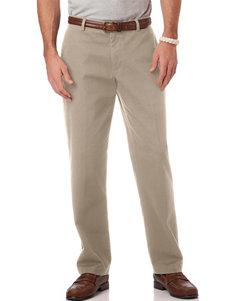 Chaps Khaki Flat Front Pants