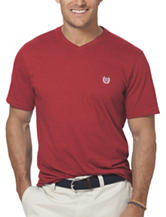 Chaps Men's Big & Tall Solid Color V-Neck T-Shirt